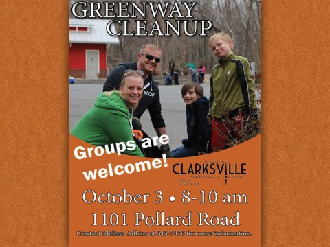 Clarksville Greenway Cleanup