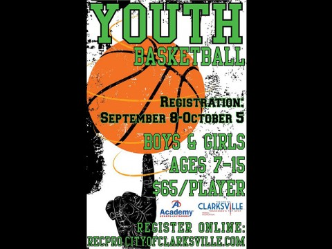 Youth Basketball League registration going on now.