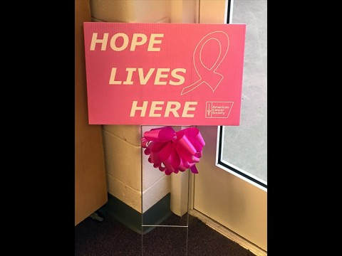 "American Cancer Society Relay For Life's ""Hope Lives Here"" campaign launches October 13th."