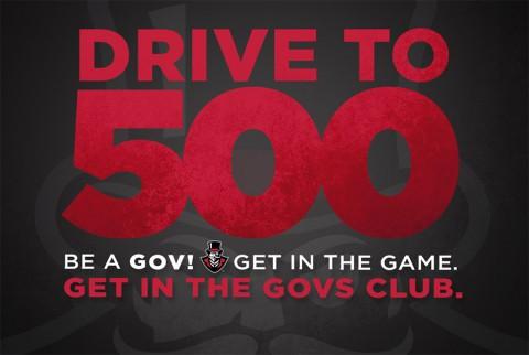 APSU Drive to 500 Membership Initiative