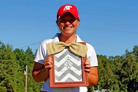 Austin Peay Lady Govs Golf's Morgan Gardner finishes second at Murray State Invitational. (APSU Sports Information)