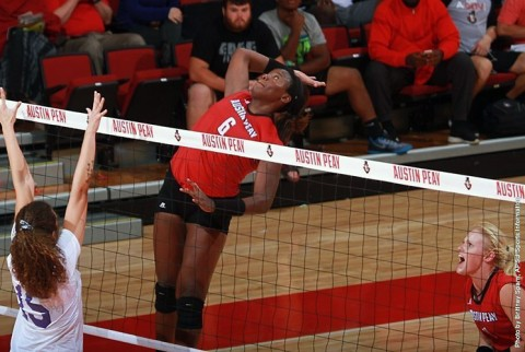 Austin Peay Womens Volleyball. (APSU Sports Information)