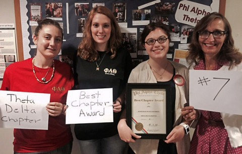 APSU's Phi Alpha Theta (PAT) history honor society