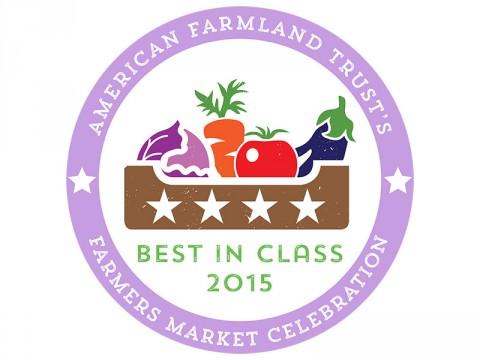 American Farmland Trust Farmers Market Celebration Best In Class 2015