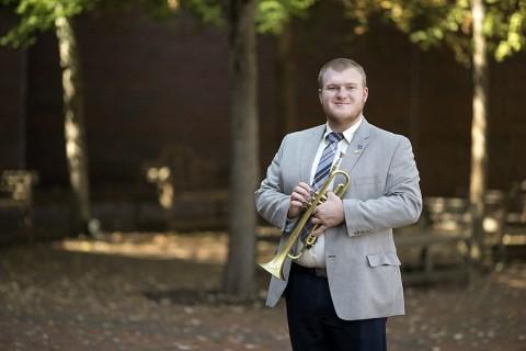 Austin Peay student Davey Edmaiston.