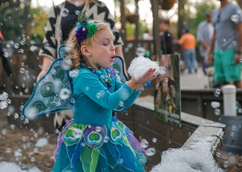 Fairy Bubbles. (Amiee Stubbs)