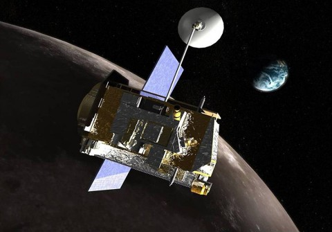 Artist's rendering of LRO spacecraft. (NASA)