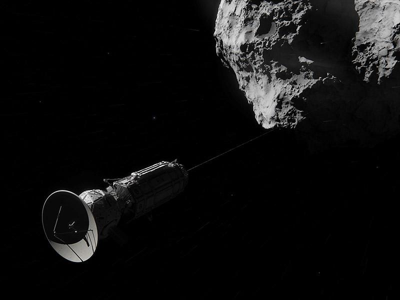 artist concept nasa comet - photo #1
