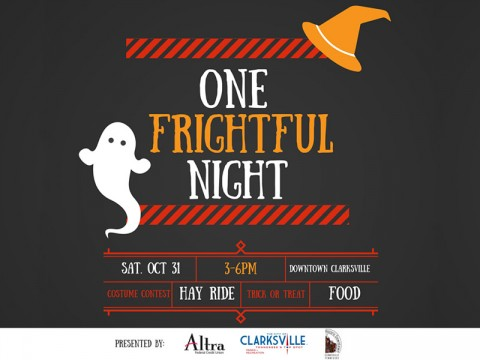 One Frightful Night set for Saturday, October 31st.