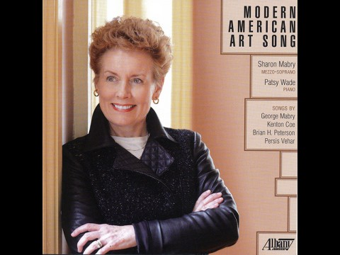 "APSU's Dr. Sharon Mabry's new album ""Modern American Art Song"""