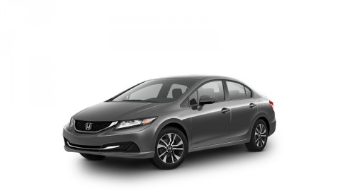 2014 Honda Civic is one of the models being recalled.