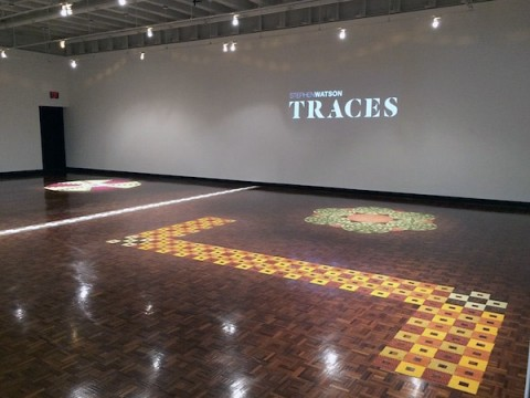 "APSU art exhibit ""Traces: A Fragrant Installation"" open now through November 18th, 2015."