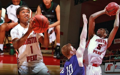 Austin Peay Men and Women's basketball begins preseason practice. (Brittney Spam, APSU Sports Information)