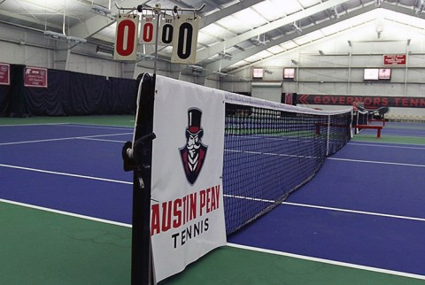 Austin Peay Men's Tennis matches set for Sunday, January 24th cancelled due to bad weather. (APSU Sports Information)