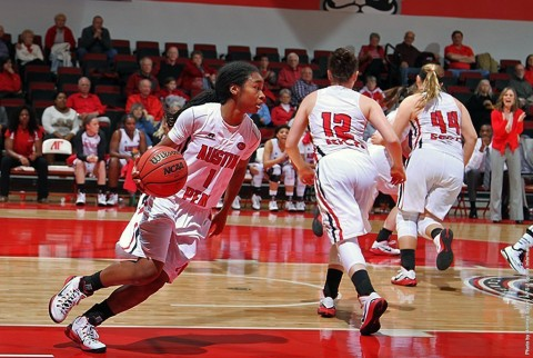 Austin Peay Womens Basketball's Tiasha Gray selected Preseason Player of the Year in OVC Media Poll. (APSU Sports Information)