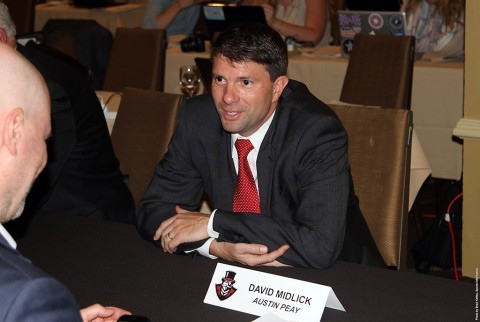 Austin Peay Women's Basketball head coach David Midlick. (APSU Sports Information)