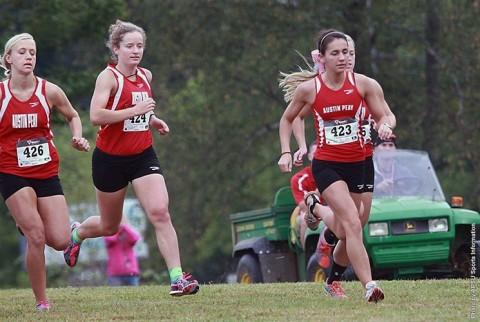 Austin Peay Women's Cross County. (APSU Sports Information)