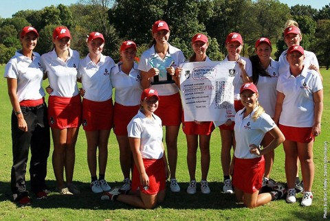 Austin Peay Womens Golf takes 1st place at F&M Bank APSU Intercollegiate. (APSU Sports Information)