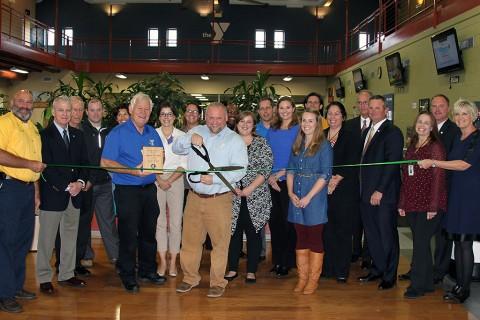 Clarksville YMCA Green Ribbon Cutting Ceremony.