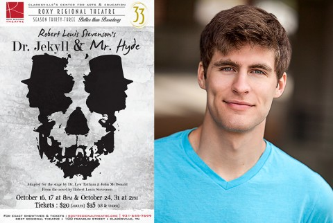 "Roxy Regional Theatres production of ""Dr. Jekyll and Mr. Hyde"" stars Jonathan Whitney."