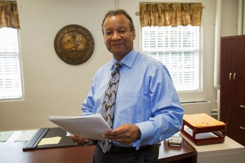 Educational Opportunity Center Director John Johnson. (Taylor Slifko, APSU)