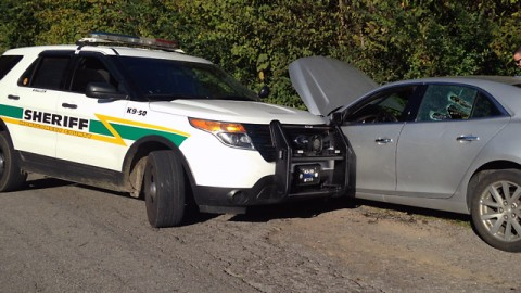 Montgomery County Sheriff's Office Deputies recover stolen vehicle.