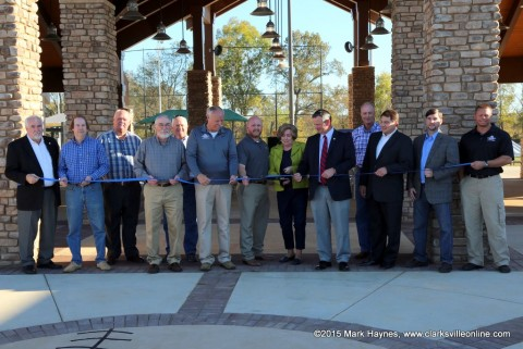 Ribbon Cutting Ceremony for RichEllen Park