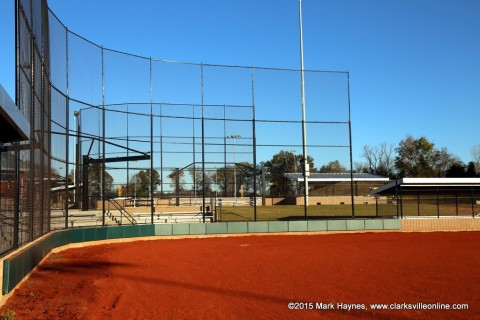 One of the ballfields at RichEllen Park.