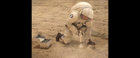 Next generation spacesuits will enable more efficient surface operations. (NASA)