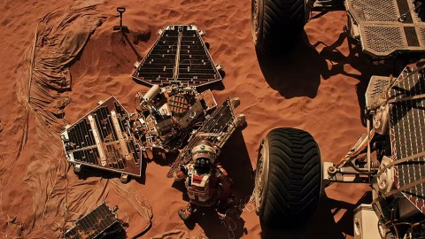 "Producers of ""The Martian"" turned to JPL for inspiration in bringing the story to life on screen. (20th Century Fox)"