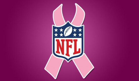 "Tennessee Titans and the National Football league support October's National Breast Cancer Awareness Month with ""A Crucial Catch: Annual Screening Saves Lives,"" campaign."