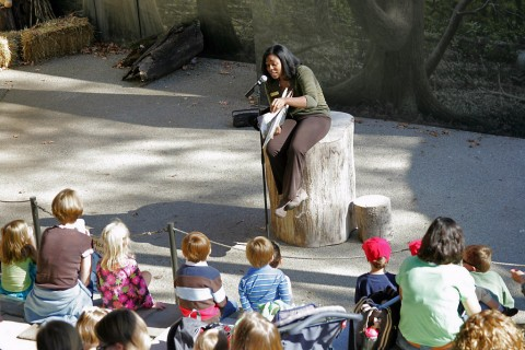 "Nashville Zoo's ""Celebrate Reading"" event."