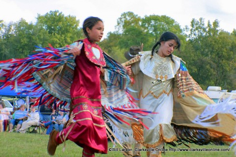 Native American Fancy Shawl Dancers