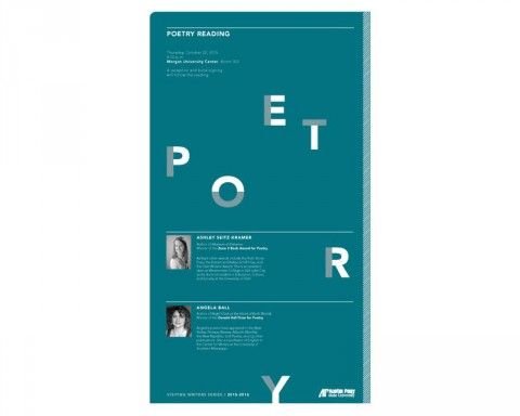 Zone 3 to host poetry reading with writers Angela Ball and Ashley Seitz Kramer today at the Morgan University Center.