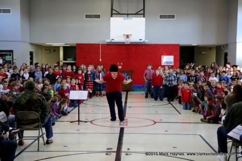 Montgomery Central Elementary School Veteran's Day Celebration