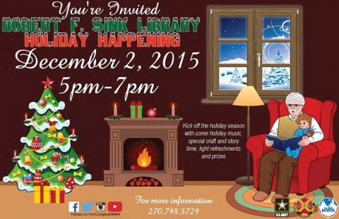 2015 Robert F. Sink Memorial Library Holiday Happening