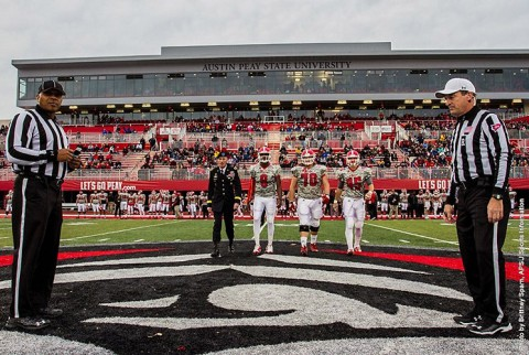 Austin Peay Football. (APSU Sports Information)