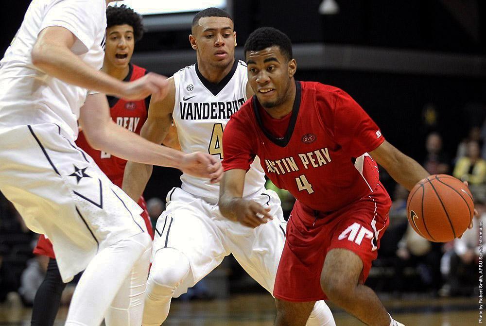 Austin Peay Men's Basketball face No. 15 Indiana Monday night. (APSU Sports Information)