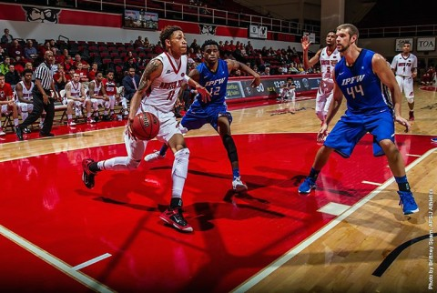 Austin Peay Men's Basketball comes up short in 80-77 loss to IP-Fort Wayne at the Dunn Center Wednesday night. (APSU Sports Information)