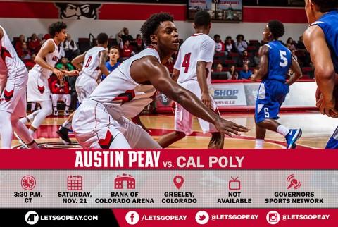 Austin Peay Men's Basketball play Cal Poly in Maui Jim Maui Invitational Saturday. (APSU Sports Information)