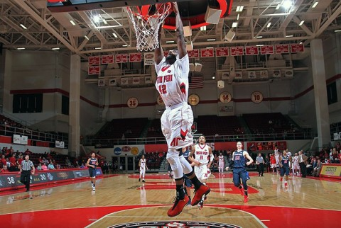 Austin Peay forward Kenny Jones scored 23 points to lead the Govs against Samford. (APSU Sports Information)