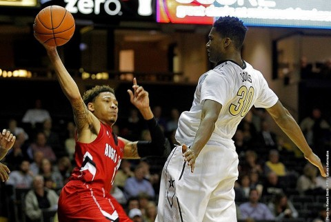 Austin Peay Men's Basketball loses to Vanderbilt Friday night, 80-41. (APSU Sports Information)