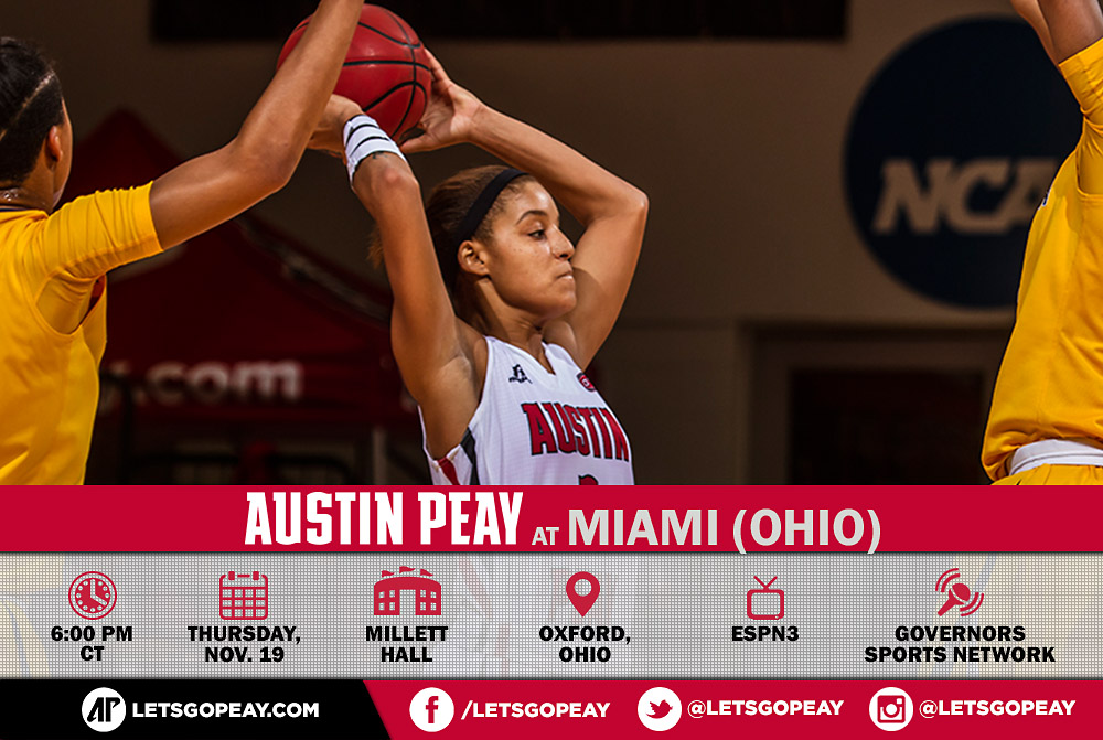 APSU Lady Govs Basketball hits the road to take on Miami ...