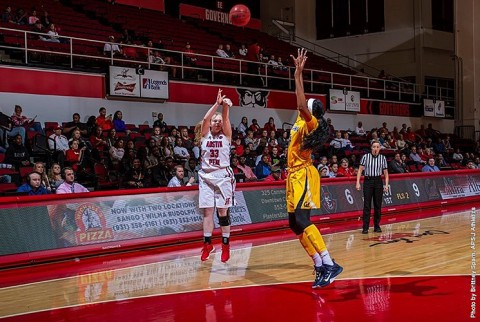 Austin Peay Women's Basketball fall 73-56 at Vanderbilt Friday afternoon. (APSU Sports Information)