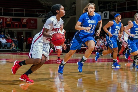 Austin Peay Women's Basketball have slow second half in loss to Middle Tennessee Monday night. (APSU Sports Information)