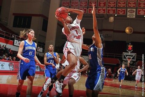 Austin Peay Women's Basketball cruises to 88-67 victory over Kentucky Wesleyan Thursday night. (APSU Sports Information)