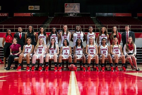 Austin Peay Women's Basketball team. (APSU Sports Information)