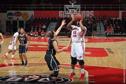 Austin Peay Women's Basketball get first win of the season Saturday night. (APSU Sports Information)