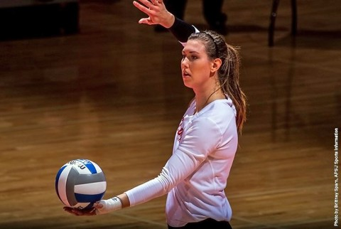 Austin Peay's Aubrey Marsellis had four kills, 18 assists, nine digs and two blocks in the loss to Murray State. (APSU Sports Information)