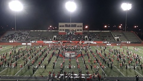 Austin Peay Governors' Own Marching Band to feature 500 musicians at November 7th APSU Football game.